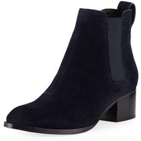 Rag & Bone Walker Lamb-Suede Chelsea Boot