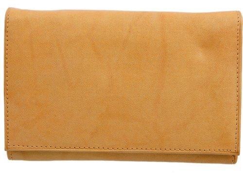 Adi Designs Tan Ladies Leather Wallet