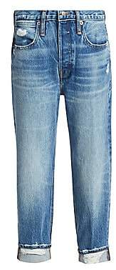 Frame Women's Pegged Rolled Cuff Jeans