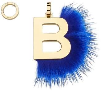 Fendi ABClick B pendant charm