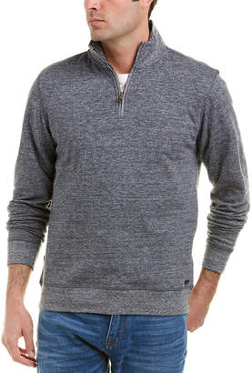 Faherty Dual Knit 1/4-Zip Pullover