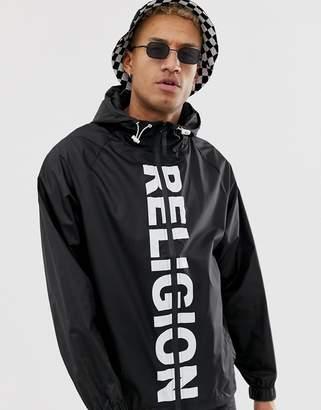 Religion festival jacket in black
