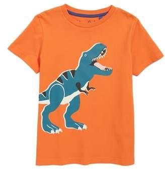 Boden Mini Glow in the Dark T-Rex T-Shirt