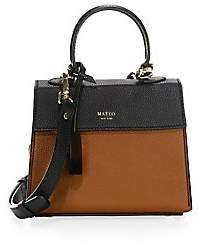 Mateo New York Mateo New York Women's Mini Elizabeth The II Leather Satchel