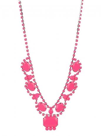 Adia Kibur Neon Stones Necklace
