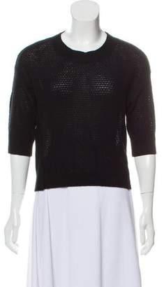 Rebecca Taylor Cashmere Crew Neck Sweater