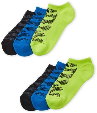 adidas Girls 7-16) 6-Pack Superlite No Show Socks