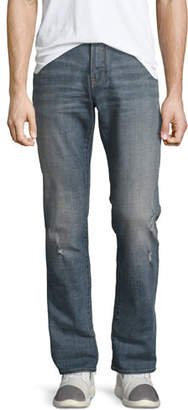 John Varvatos Bowery Slim-Straight Jeans, Blue