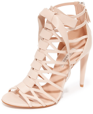 Casadei Caged Sandals $920 thestylecure.com