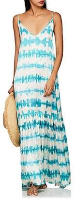Leone WE ARE Women's Elki Tie-Dyed Silk Maxi Dress