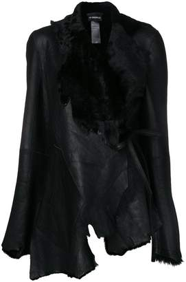 Ann Demeulemeester asymmetric fitted jacket