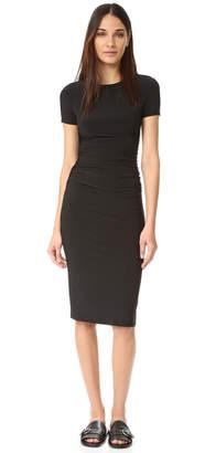 Norma Kamali Kamali Kulture Shirred Dress $125 thestylecure.com