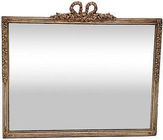 One Kings Lane Vintage Antique Silver Leaf Mirror - Jacki Mallick Designs