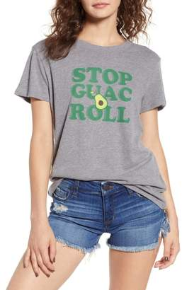Sub Urban Riot Sub_Urban Riot Stop, Guac & Roll Slouched Tee