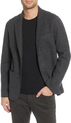John Varvatos Slim Fit Double Face Wool Blend Sport Coat
