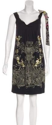 Christian Lacroix Sleeveless Mini Dress