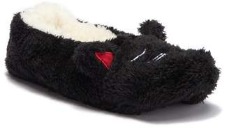 Gold Toe Embroidered Animal Slipper