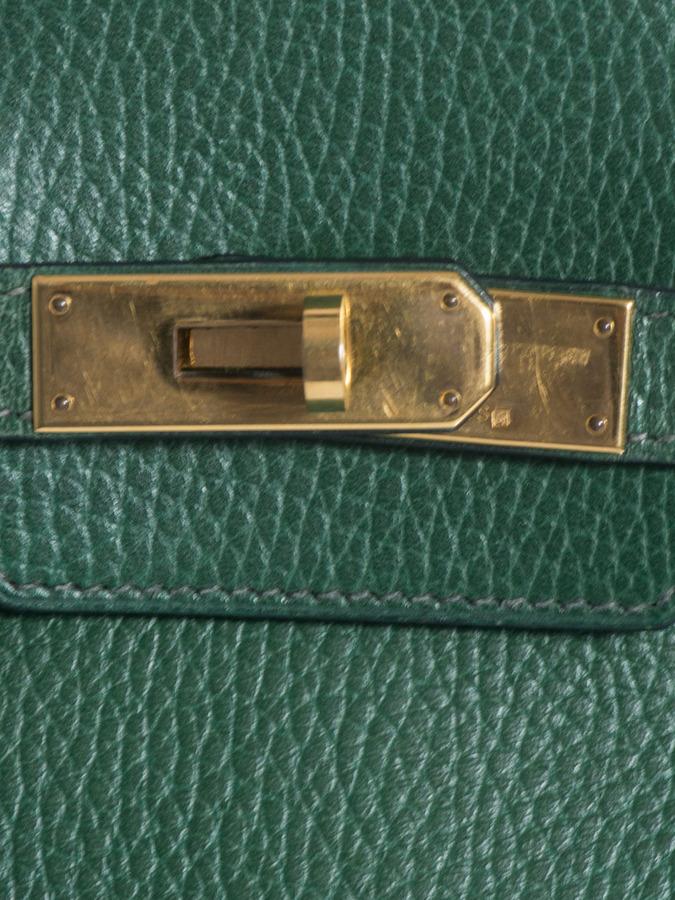 Hermes Vintage Birkin 35 leather bag