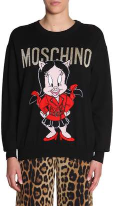 Moschino Crew Neck Sweater