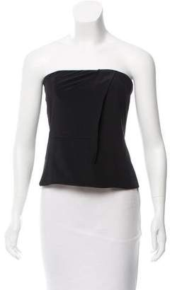 2b0b68082f7 Strapless Silk Top - ShopStyle