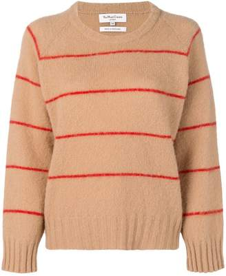 YMC striped round neck sweater