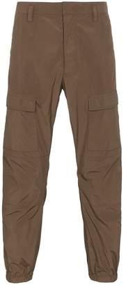 Prada Cropped cargo trousers