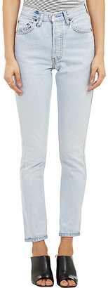 RE/DONE Women's The High Rise Jeans $265 thestylecure.com