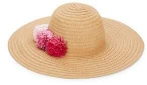 Ava & Aiden Pom-Pom Sun Hat