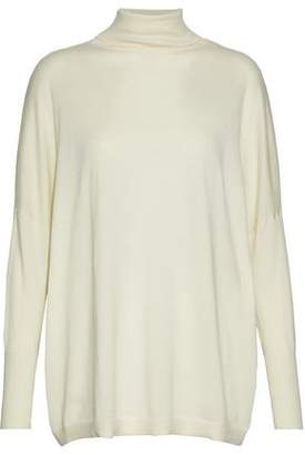 N.Peal Cashmere And Silk-Blend Turtleneck Sweater