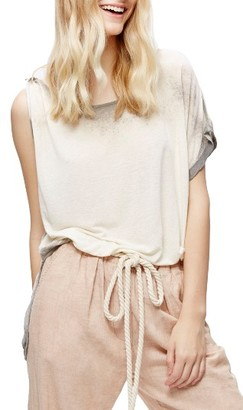 Women's Free People Pluto One-Shoulder Tee $58 thestylecure.com