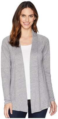 Mod-o-doc Linen Jersey Twist Back Cardigan Women's Sweater