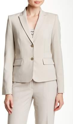 Modern American Designer Solid Blazer Jacket