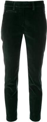 Dondup velvet cropped trousers