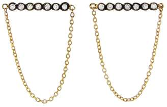 Yannis Sergakis Adornments Charnières Diamond Chained Earrings