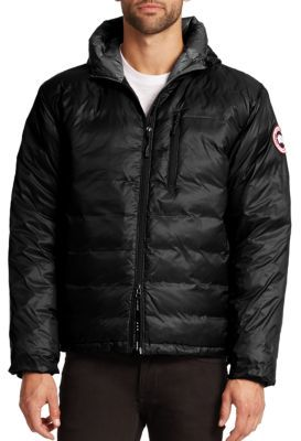 Canada Goose Lodge Hooded Jacket $550 thestylecure.com