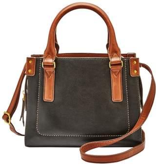 Fossil Claire Mini Satchel Handbags Black