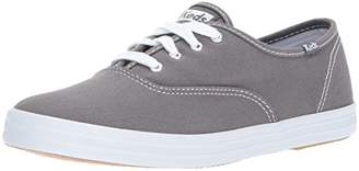 Champion Text-Graphite, Womens Low-Top Sneakers, Grey, 4.5 UK Keds