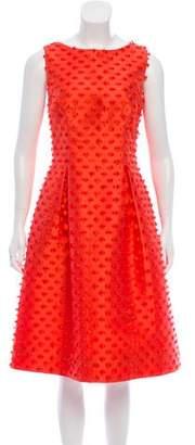 Lela Rose Betsy Fringe Dress