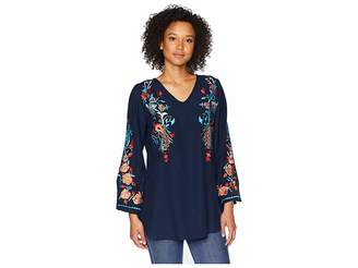 Scully Becca Embroidered Blouse