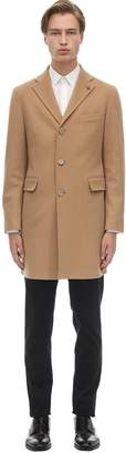 Tagliatore Virgin Wool & Cashmere Coat