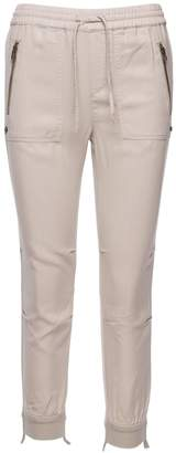 Pam & Gela Cuff Destructed Jogger Pants
