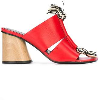 Proenza Schouler Knotted Rope Sandals
