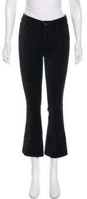 Paige Velvet Straight-Leg Pants w/ Tags