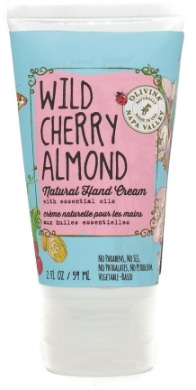 Olivina Natural Hand Cream Wild Cherry Almond