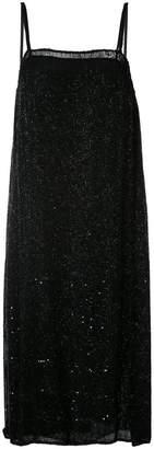 Ashish beaded chiffon slip dress