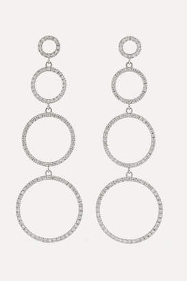 Ileana Makri - Twiggy 18-karat White Gold Diamond Earrings