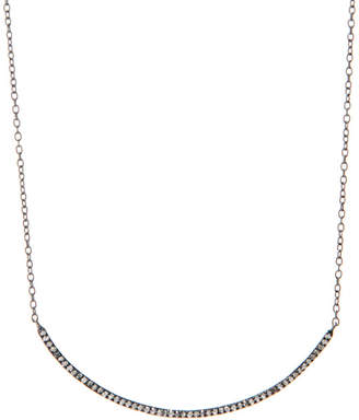Rivka Friedman Signature Silver 0.46 Ct. Tw. Diamond Necklace