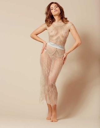 Ashanti Skirt Silver