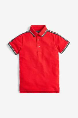 Next Boys Red Polo T-Shirt (3-16yrs) - Red