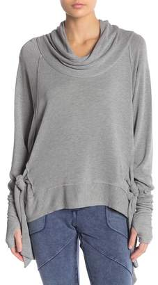 Free People Sweet Flow Side Tie Pullover